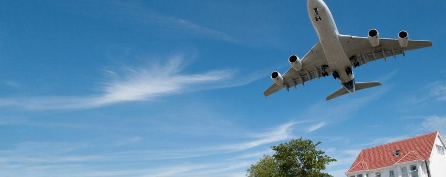 Schallschutz flugzeug